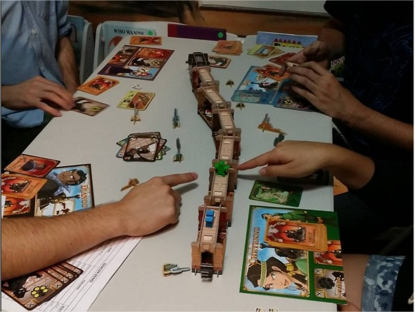 Colt Express Tubby & Coo's Board Game Tabletop Night