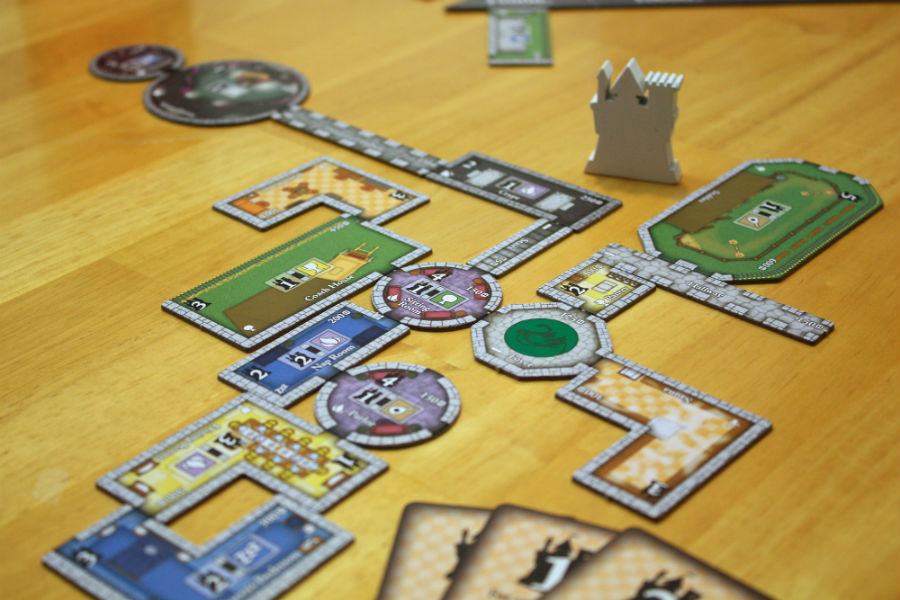 Review: Castles of Mad King Ludwig Offers Simple Mechanics