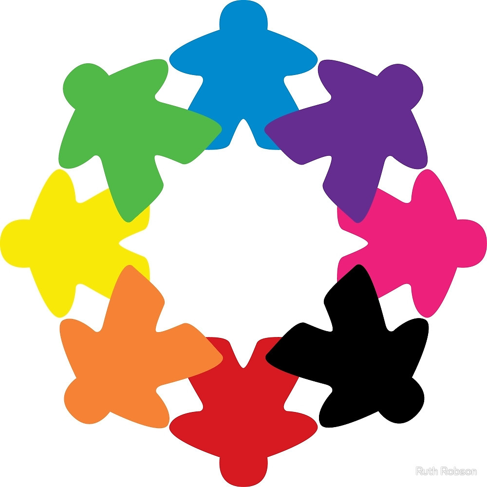 Meeple Rainbow