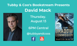 Bookstream: David Mack & The Dark Arts Series
