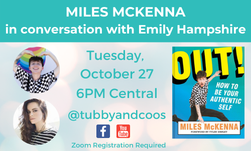 Miles McKenna In Conversation With Emily Hampshire
