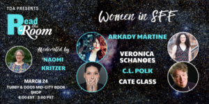 """Women in SFF: March """"Read the Room"""" Tor Panel"""