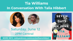 Tia Williams In Conversation with Talia Hibbert