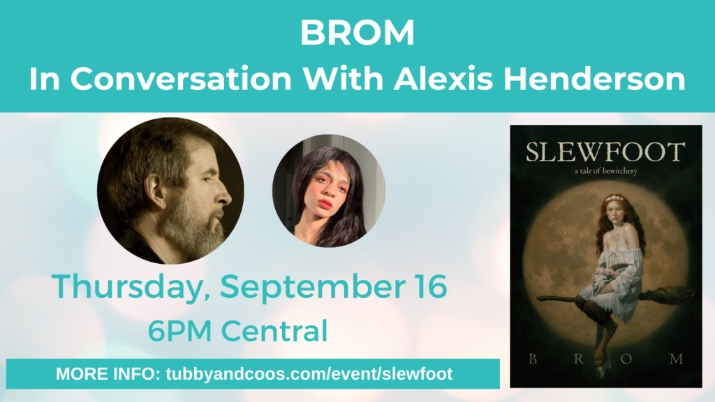 Brom In Conversation With Alexis Henderson