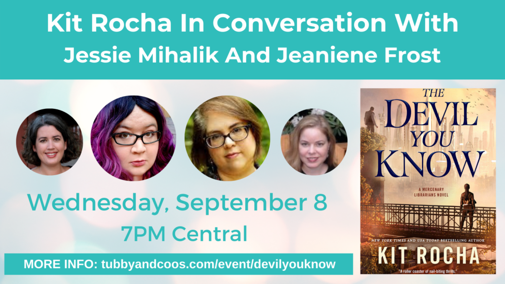 Kit Rocha In Conversation With Jessie Mihalik and Jeaniene Frost