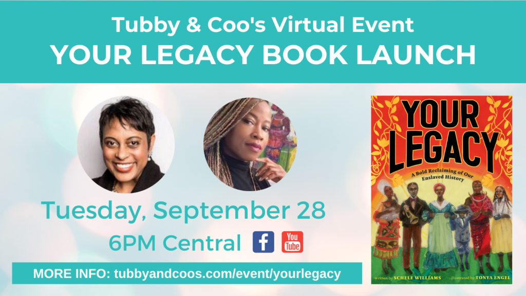 Your Legacy Book Launch With Schele Williams & Tonya Engel